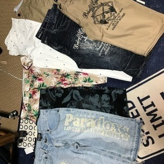 men's ショートパンツ 新品  6枚 おまけ付き お値下げし...