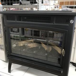 暖炉型電気温風機