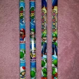 選ぶ1本 スーパーマリオ♪三菱鉛筆B ルイージ ヨッシー キノピオ