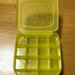 二段ピルケース、小分け収納ケース