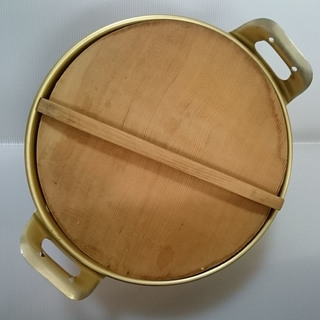 【中古】ホクセイ アルミ鍋 33㎝