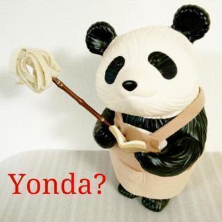 【非売品超レア】新潮社⭐️初代Yonda?CLUB パンダ フィギュア