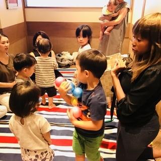 外国人講師によるダンスを取り入れたキッズ英会話 in 天王寺