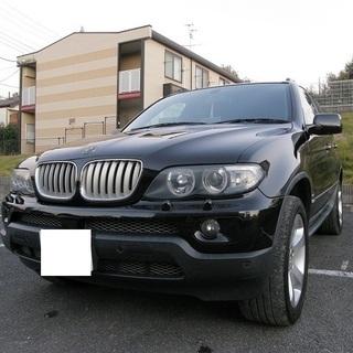 H17 X5 4.4i 黒本革シート サンルーフ 4WD ポータブルナビ 12930の画像
