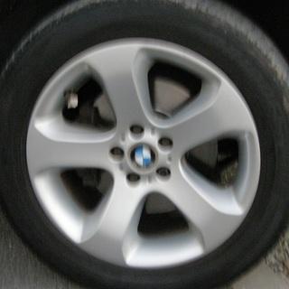 H17 X5 4.4i 黒本革シート サンルーフ 4WD ポータブルナビ 12930 − 千葉県