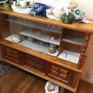 食器棚 飾り棚 148×39×111cm 美品 関東圏配送可能