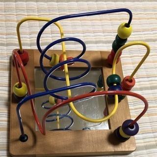 知育玩具ビーズコースター