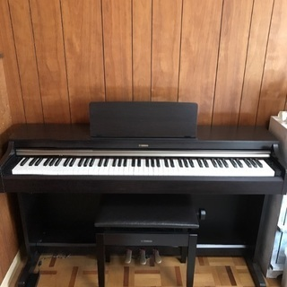 2015年製 ヤマハ電子ピアノ アリウス(YDP-162R) ダ...