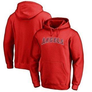 MLB エンゼルス チーム ワードマーク  パーカー レッド