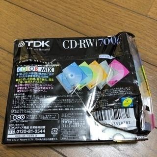 値下げします 新品 CD-RW 5枚組