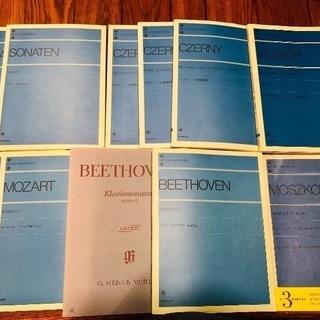 ピアノの楽譜(11冊)☆値下げしました☆