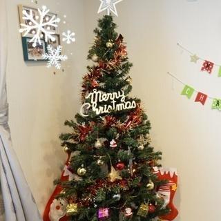 【終了】クリスマスツリー 180cm