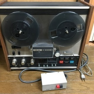 TEAC ティアック オープンリールデッキ A-2300S & ...