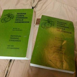 海兵隊スキルハンドブック2冊 ミリタリー 米軍