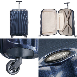 ☆新品☆サムソナイトスーツケース68Lミッドナイトブルー