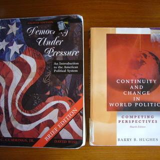 アメリカの大学の教科書(政治・西洋史など)