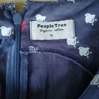People Tree 千鳥柄ワンピース - 東近江市