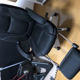 リクライニングチェア 足置き場付き 寝れる椅子