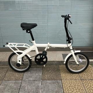 【京都市内配達可】折りたたみ自転車 美品