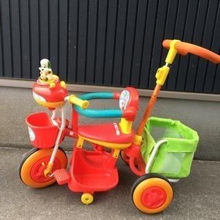 いないいないばぁ 三輪車
