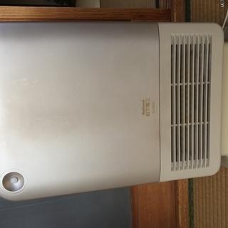 小型電気温風ヒーター