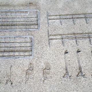 有孔ボード・パンチングボード用 フックセット(13点)中古品