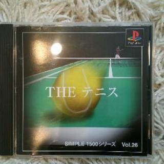 美品❗0円プレステ テニスソフト