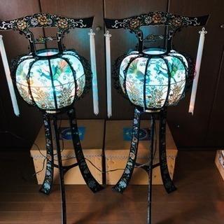 回転灯篭 2個 箱付き 美品