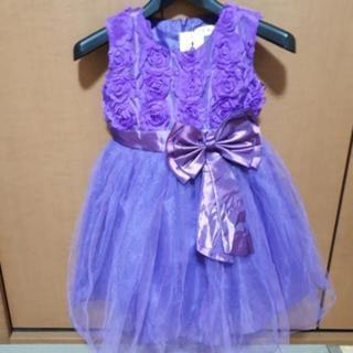 子どもドレス(新品)+パニエ