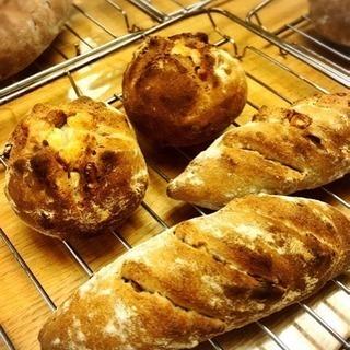 【募集終了】第9回パンとお菓子の教室♪~クルミとナッツのグラハムパン~