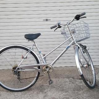 27インチ自転車(6段変速)