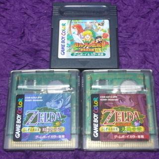 GB ゼルダの伝説 3本セット ゲームボーイ