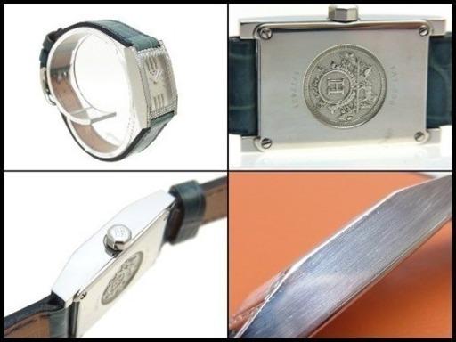 85f9ce5533e1 HERMES エルメス タンデム ダイヤベゼル TA1 230 クロコ革ベルト 腕時計 レディース - 札幌市