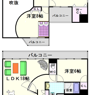 【ZEUS難波プレミアム】2号タイプ!3LDKタイプ!100㎡以上...