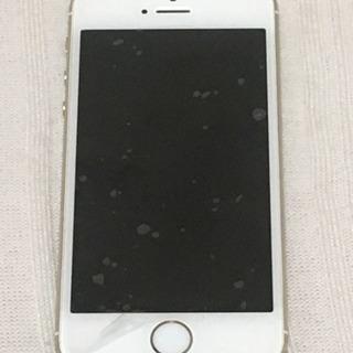 値下げ★ ケース付 iPhone5s本体ゴールド64GB