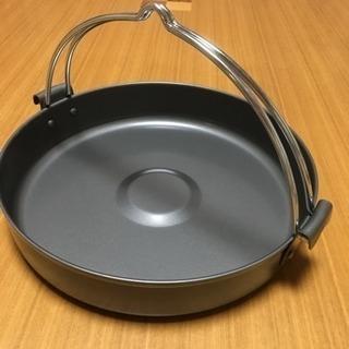 美品♪ すき焼き鍋  つる付 電磁調理器可