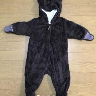 H&M クマさんカバーオール 手足カバー付き