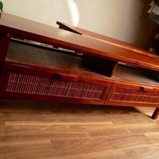 【引き取りのみ】アジアン風 バリ風 テーブル