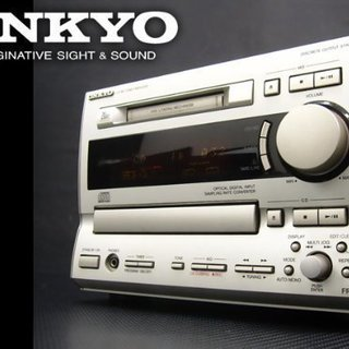 【値下げ可】ONKYO オンキョー FR-V5 CD/MDチュー...