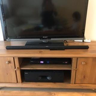 アンティーク  カントリー  テレビ台  木製  インテリア