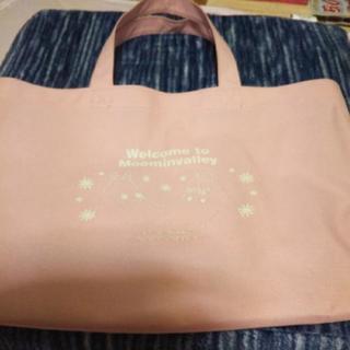 最終お値下げ!ピンクのムーミントートバッグ
