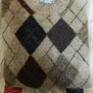 クロコダイル セーター wool100%