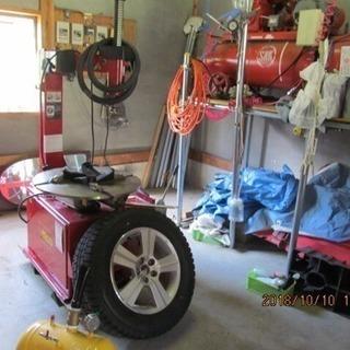 タイヤ取付、ホイール組み替え、交換、バランス込み4本価格4350円