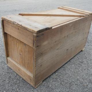 昔懐かしい手作り大工工具箱