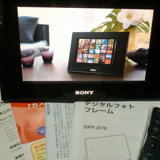 ソニー SONY デジタルフォトフレーム D70 ブラック DPF...