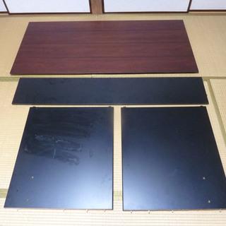 [終了]広い机(150cm×70cm)・木工材