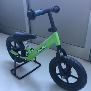 ペダルなし自転車(ブレーキなし)