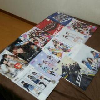 非売品AKB48クリアファイル11種類約160枚+ファイル入れ11種類分