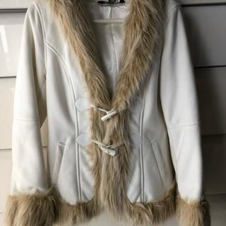 白いコート☆Mサイズ