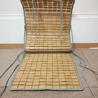 竹マット  座椅子車用